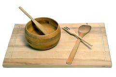 木的器物 免版税库存照片