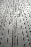 木的地板被固定 免版税库存图片