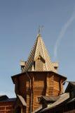 木的塔 库存图片