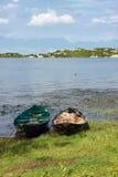 木的小船二 免版税库存图片