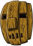 木的屏蔽 皇族释放例证