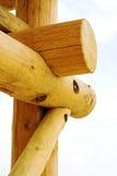 木的建筑 库存图片