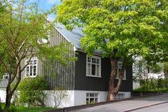 木的房子 免版税图库摄影