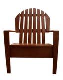 木的扶手椅子 库存图片