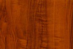 木的接近的桃花心木红木纹理 免版税图库摄影