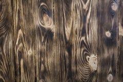 木的接近的纹理 木墙壁由委员会做成 免版税图库摄影