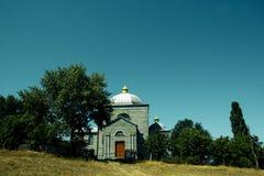 木的教会 免版税库存图片