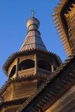 木的教会 免版税图库摄影