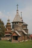 木的教会 图库摄影