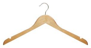 木的晒衣架 免版税图库摄影