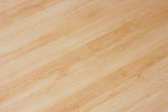 木的木条地板 免版税库存图片