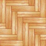 木的木条地板 皇族释放例证