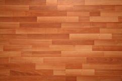 木的木条地板 库存照片
