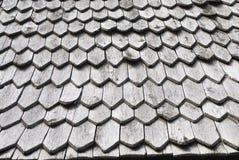 木的木瓦 免版税图库摄影