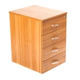 木的机柜 库存图片