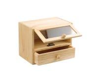 木的机柜 免版税库存照片