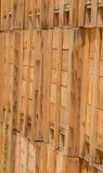 木的条板箱 库存图片