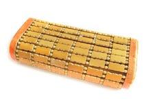 木的枕头 免版税库存图片