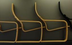 木的椅子 免版税库存照片