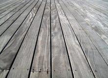 木的楼层 免版税库存照片