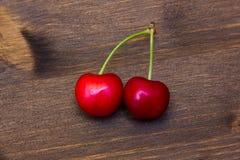 木的樱桃 免版税库存图片