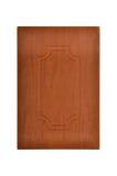 木的橱门 免版税库存图片