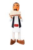 木的玩偶 免版税库存照片