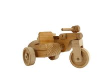 木的玩具 库存图片