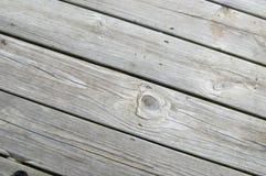 木的甲板 图库摄影