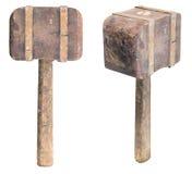 木的短槌 免版税图库摄影