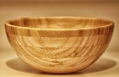 木的碗 图库摄影