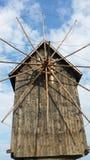 木的磨房 免版税库存照片