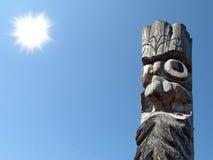 木的神象 库存图片