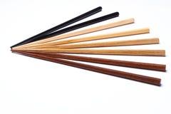 木的筷子 图库摄影