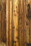 木的结和的钉子 库存图片
