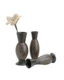 木的花瓶 库存图片