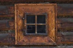 木的视窗 免版税库存图片