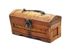 木的配件箱 库存图片