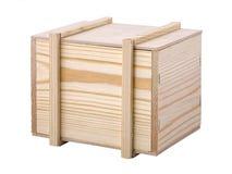 木的配件箱 图库摄影