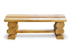 木的长凳 图库摄影