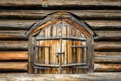 木的门 库存照片
