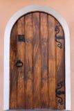 木的门 免版税库存照片