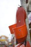 木的鞋子 库存图片
