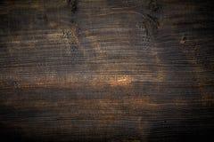 木的黑色被绘 库存照片