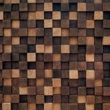 木盘区是手工制造的 美丽的墙壁装饰 免版税库存照片