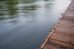 木码头的水 库存图片