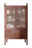 木碗柜 库存图片