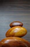 木禅宗石头 库存图片