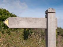 木空白的符号 免版税图库摄影