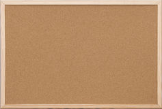 木空白董事会黄柏框架的办公室 免版税库存照片
